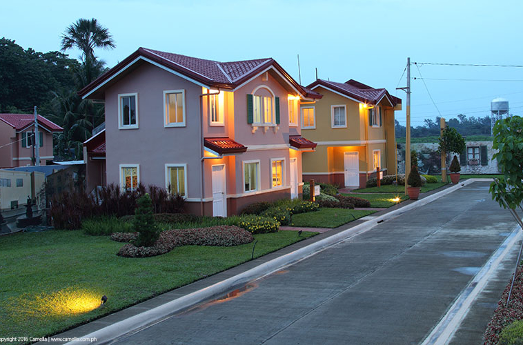 Camella Bacolod house and lot units with garden