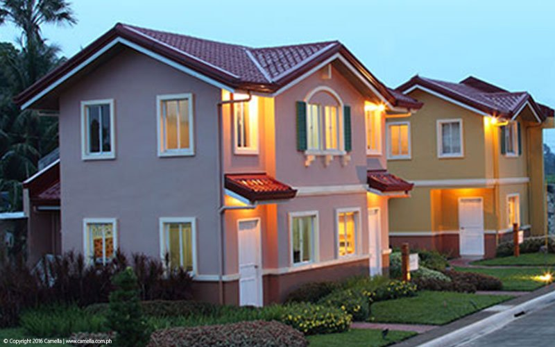 Camella Bacolod house and lot with lights