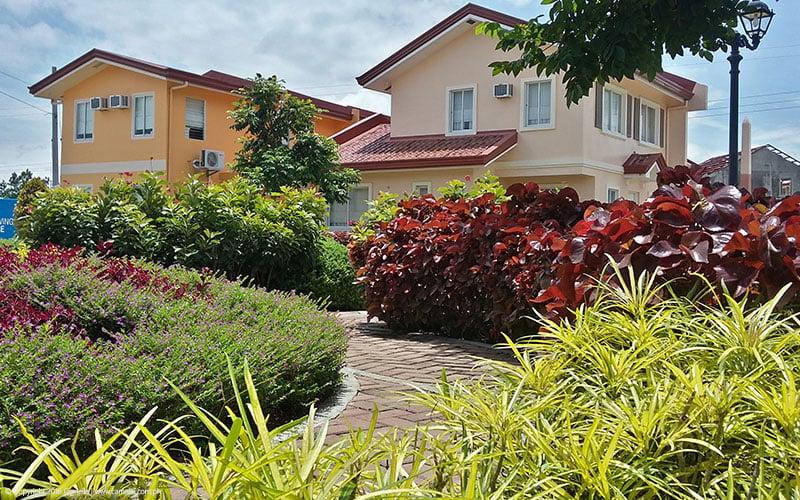 Camella Bohol houses with garden