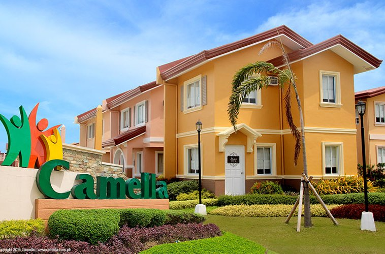 Camella Prima Koronadal house and lot units with marker