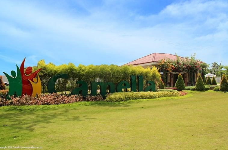 Camella Prima Koronadal marker and garden
