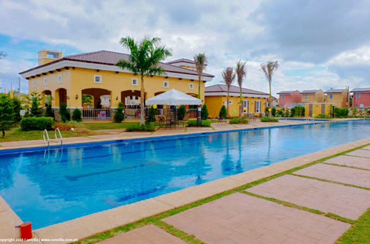 Camella Baliwag clubhouse and swimming pool