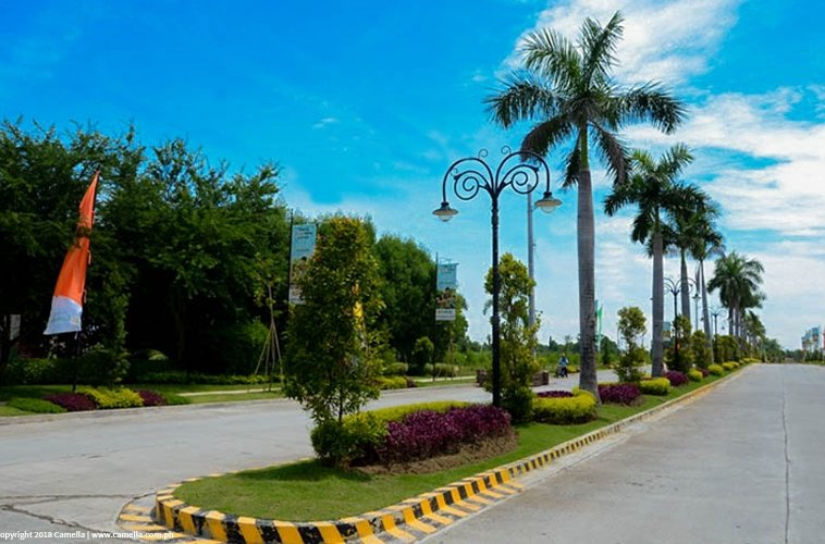 Camella Baliwag driveway