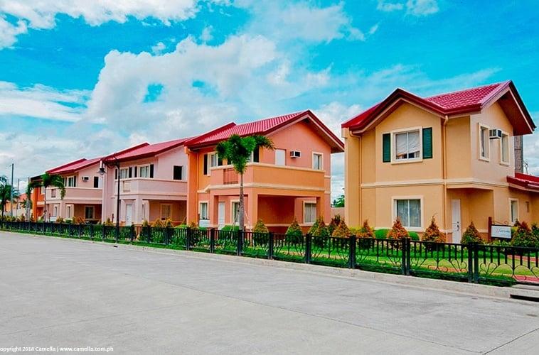 Camella Baliwag house and lot units