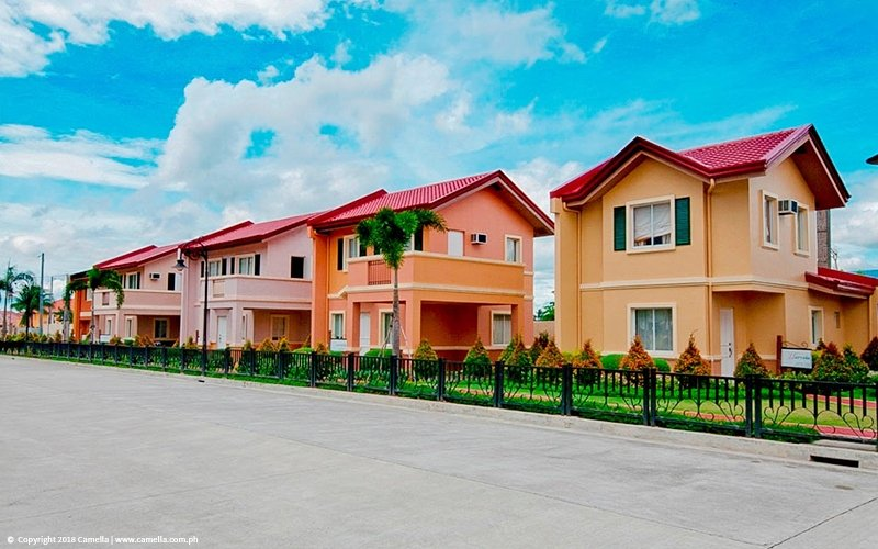 Camella Baliwag house and lot units