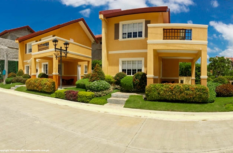 Camella Bantay house and lot units with carport and balcony