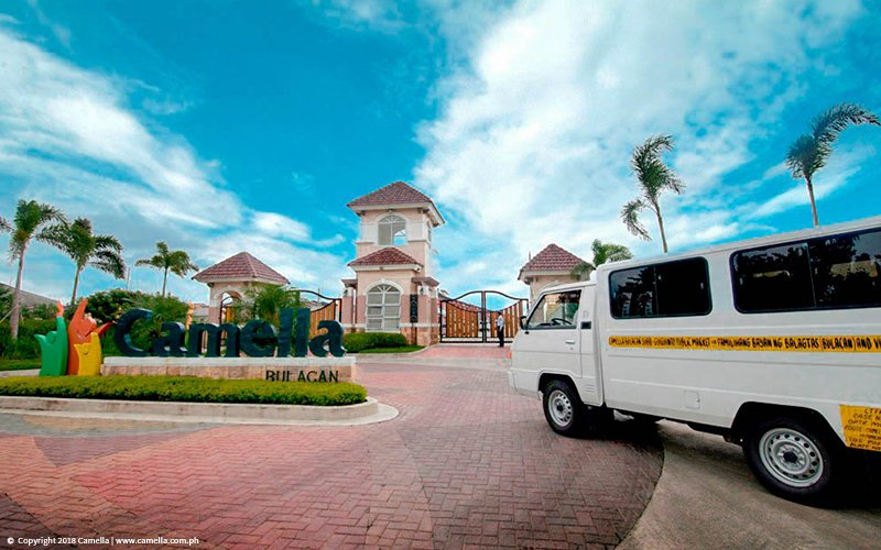 Camella Bulakan shuttle service and entrance