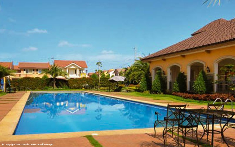 Camella Bulakan swimming pool