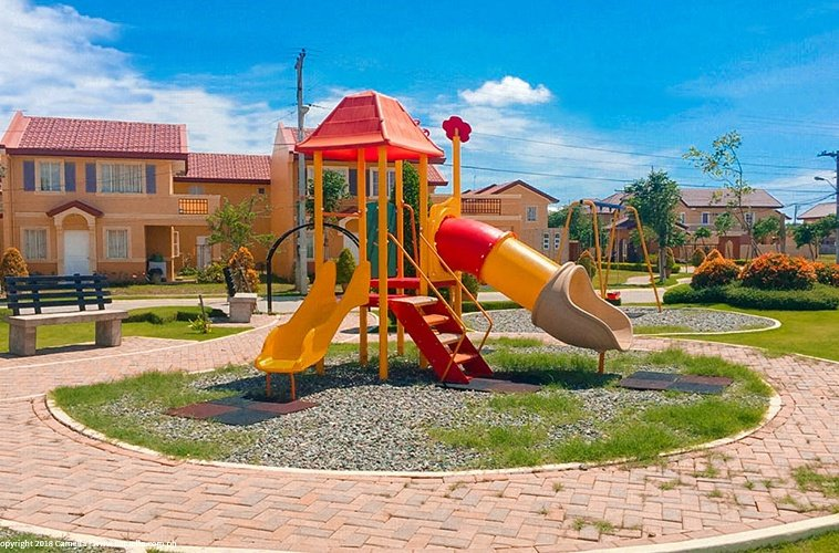 Camella Laoag Playground with slide for children