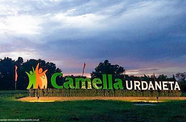 Camella Urdaneta marker