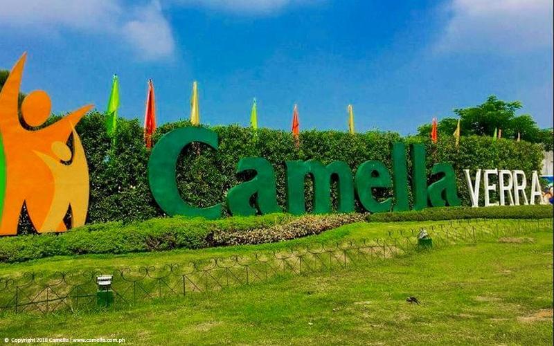 Camella Verra Metro North marker
