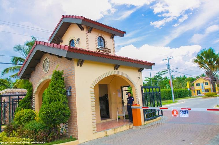 Camella Butuan entrance gate