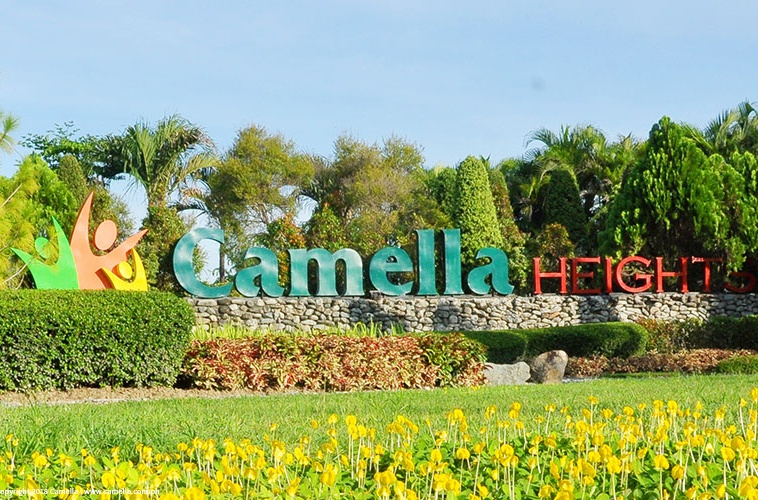Camella Heights marker