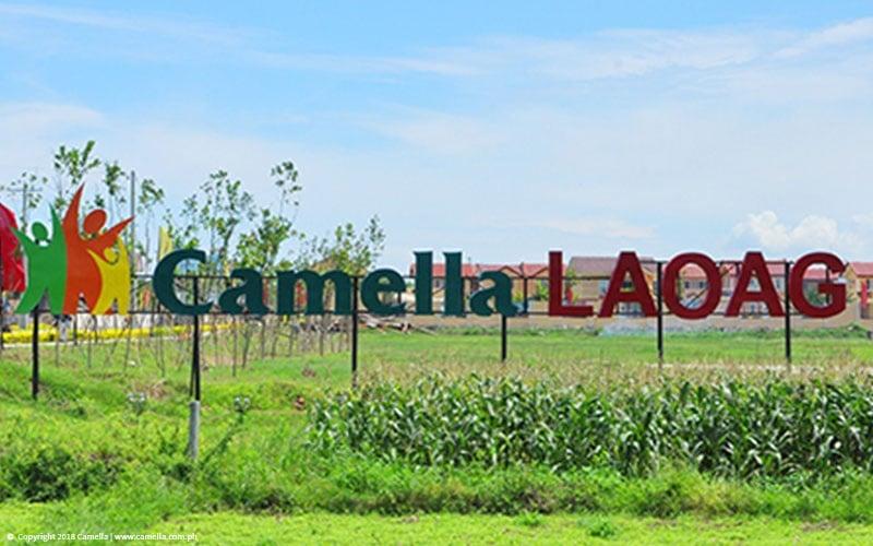 Camella Laoag marker