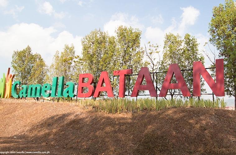 Camella Bataan marker
