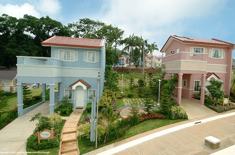 Camella Crestwood Heights house and lot units with carport and balcony