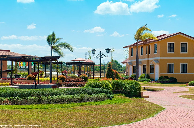 Camella Dasma at tThe Islands house and lot units with garden