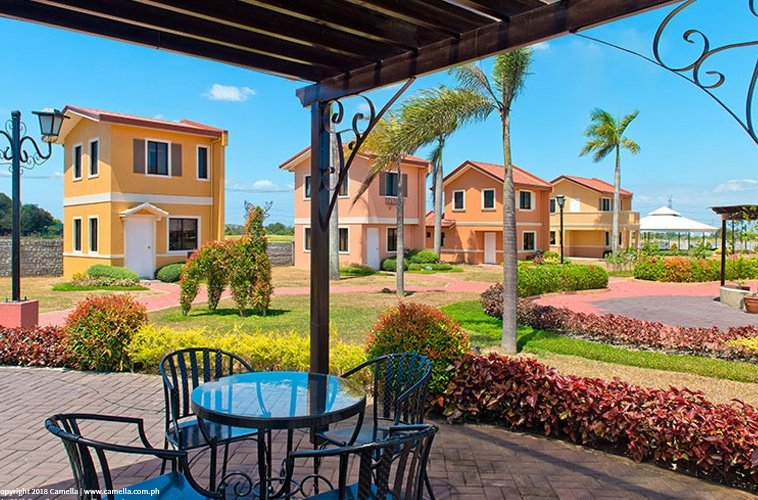 Camella Dasma at The Islands house and lot units with garden