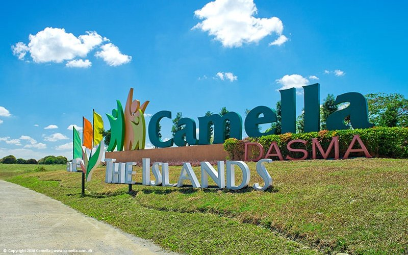 Camella Dasma at The Islands marker