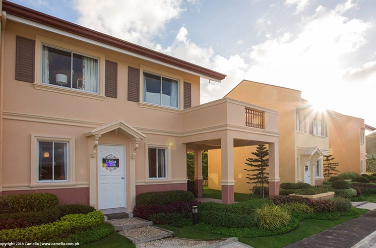 Camella Legazpi Elaisa house and lot with carport and balcony