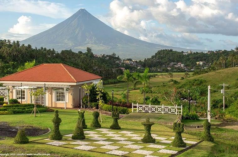 Camella Legazpi overlooking Mount Mayon