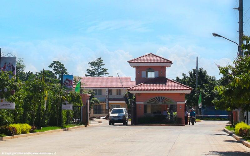 Camella Puerto Princesa safe and secured entrance gate