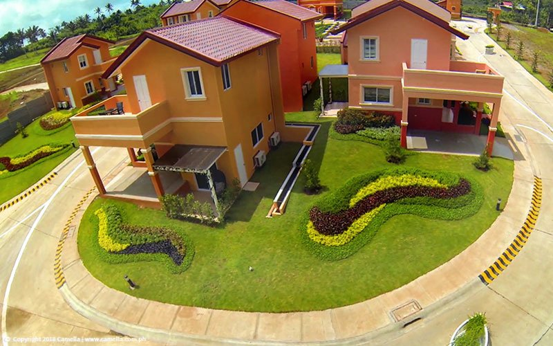Camella Alta Silang homes with car port, balcony, and garden