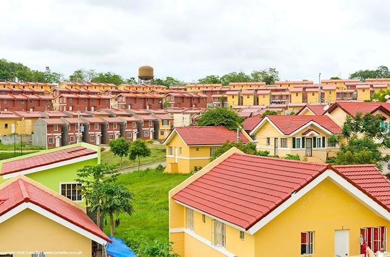 Camella Cerritos CDO houses