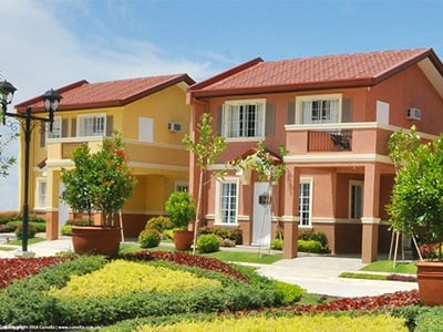 Camella Candon house and lot units with carport and balcony