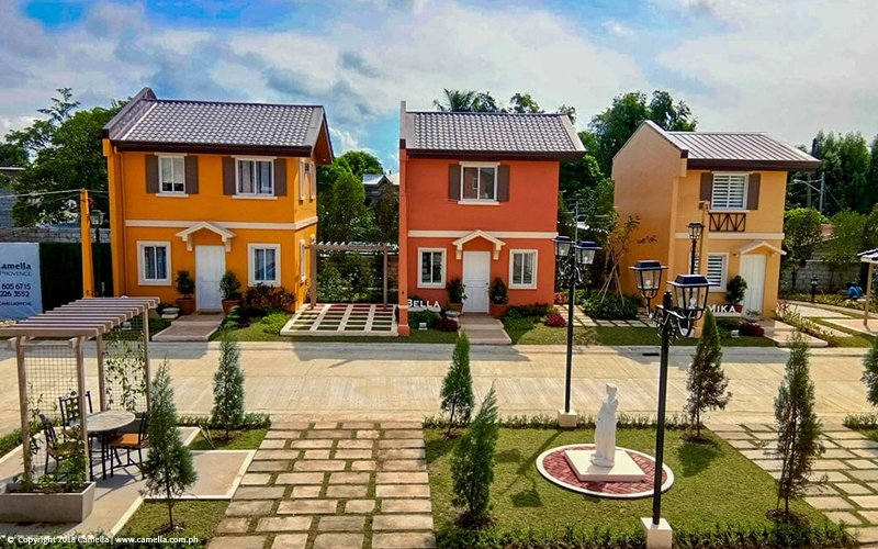Camella Balanga Heights house and lot units