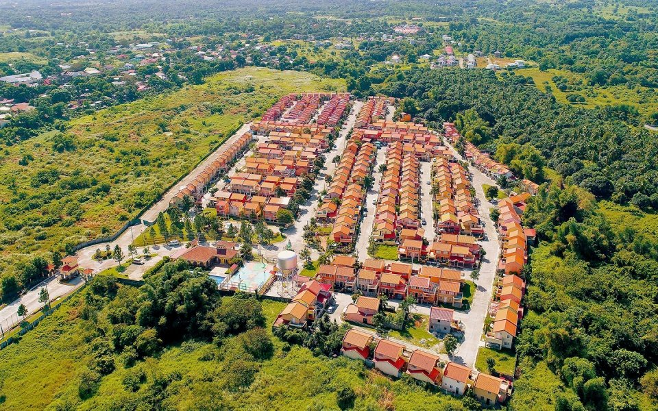 Inside Camella Bataan community surrounded by lush greeneries