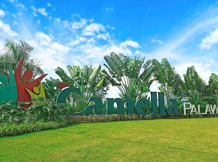 Camella Palawan marker