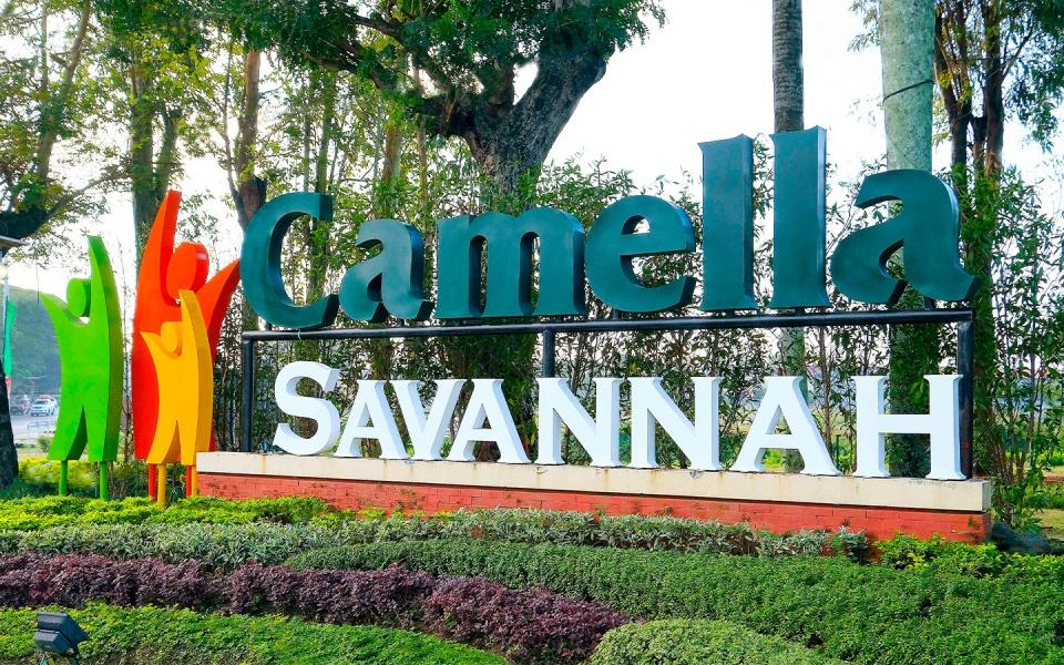 Camella Savannah marker in Iloilo City