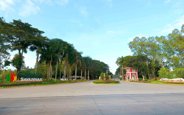 Camella Savannah entrance gate and marker
