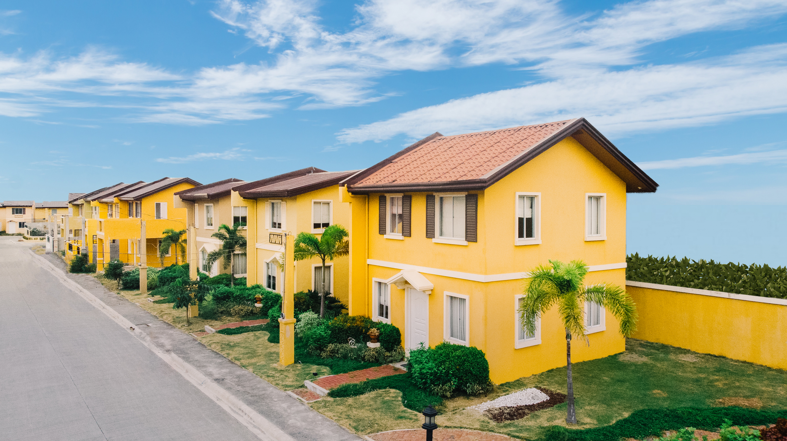 Camella Alfonso house and lot units