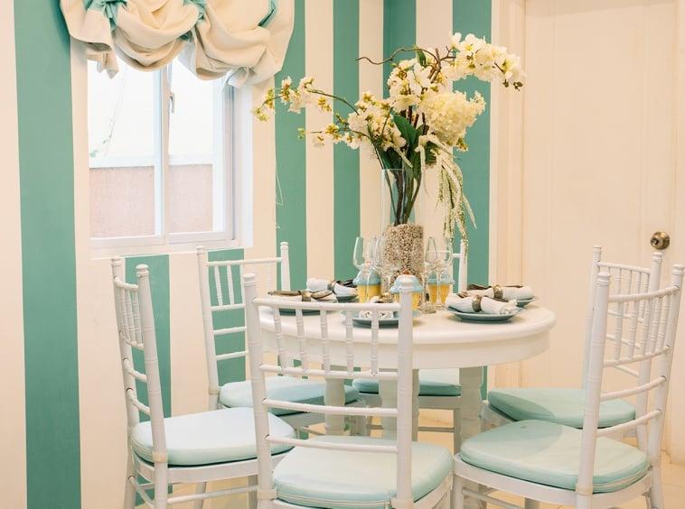 Cara dining area interior design