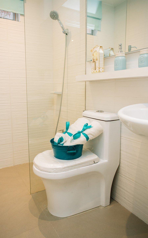 Cara home toilet and bath interior design