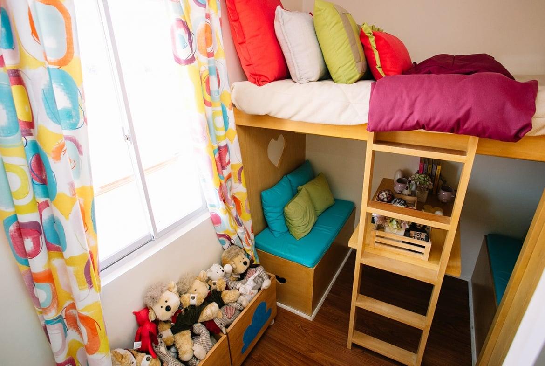 Dani kid's bedroom with bunk bed