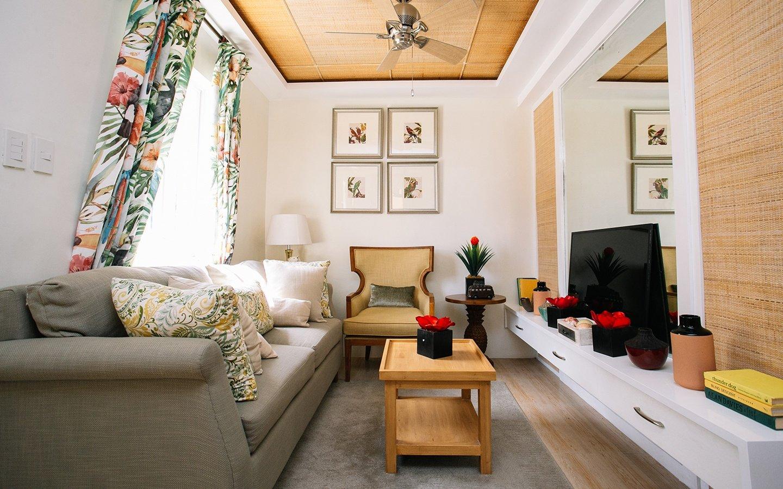Dani home living area interior design