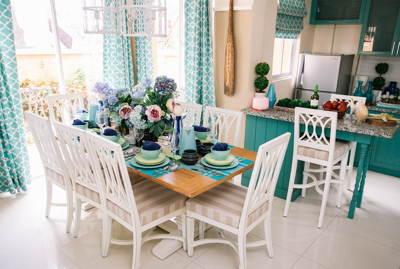 Freya home dining area
