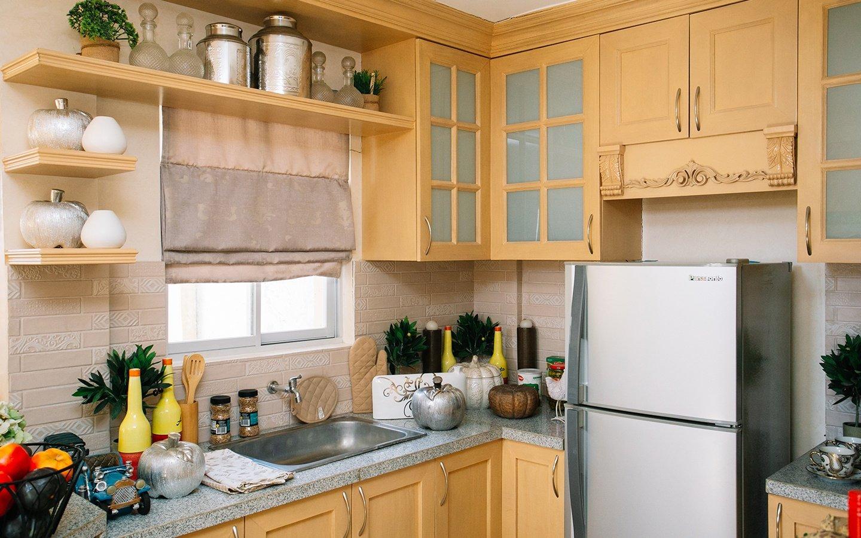 Greta home kitchen area