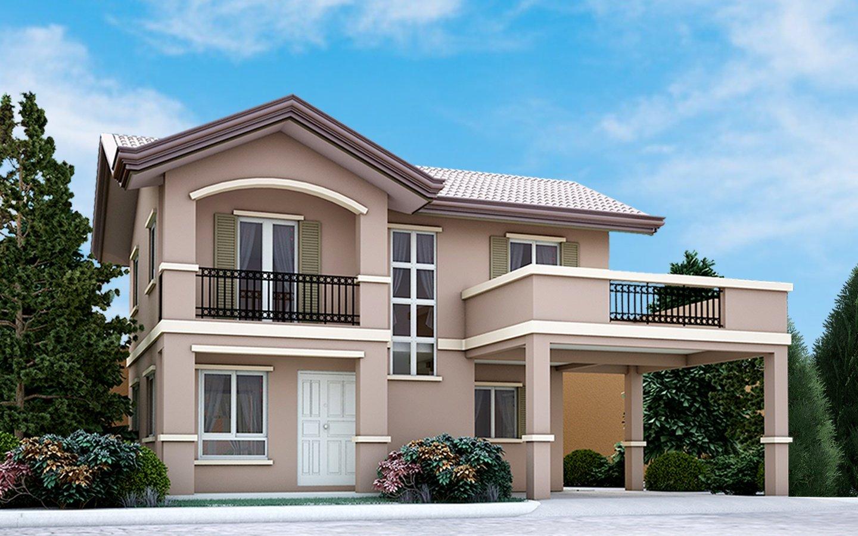 Camella Grande Series Greta with spacious balcony and car port