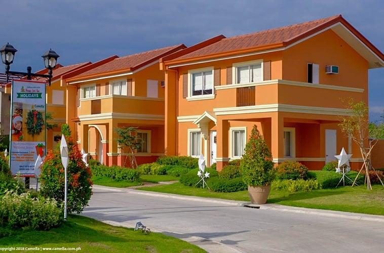 Camella Pampanga house and lot with carport and balcony