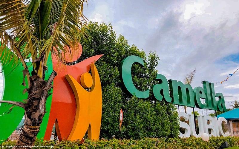 Camella Subic marker