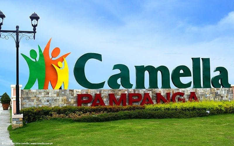 Camella Pampanga marker