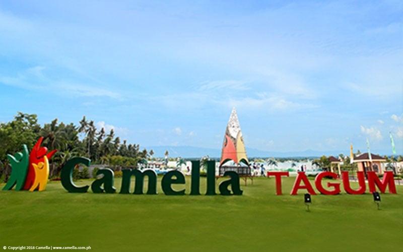 Camella Tagum Trails marker